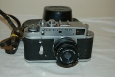 Zorki 4K Rangefinder Camera With Industar Lens & Case. 1975. 75692433. UK Sale