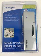 Kensington Portable Universal Docking Station Plug And Play Expansion Hub 33055