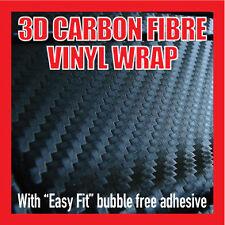 3D CARBON FIBRE VINYL WRAP - 20cm x 30cm sheet, All Manufacturers and Exterior D