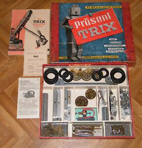 Trix Metall 905 Baukasten PRÄSENT mit Motor und OVP (1502)
