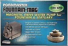 New listing Pondmaster Fountain-Mag 190Gph Pump