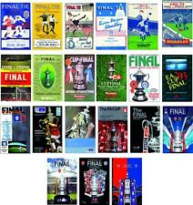 More details for arsenal fa cup final programme cover fridge magnets 70mm x 45mm