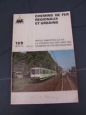 Chemins de fer secondaires 129 1975 tramways USA