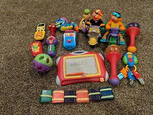 Sesame street toys lot