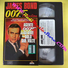 VHS film cartonata JAMES BOND 007 SI VIVE SOLO DUE VOLTE 1996 FABBRI(F30)*no dvd