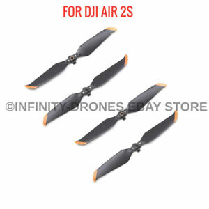 4x Genuine DJI Mavic Air 2S Props Propellers - Quick Release Folding, Low Noise