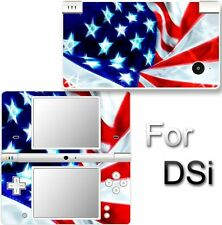 USA Flag SKIN STICKER DECAL VINYL for NINTENDO DSi NDSi