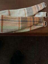 Pair Of Check Tie Backs - BNWOT