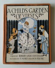 1929 A Child's Garden of Verses by Robert Louis Stevenson E. Mars M.H. Squire