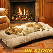 US Large Pet Bed Mattress Dog Cushion Pillow Washable Soft Winter Warm Blanket