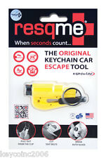Res-Q-Me Keychain Emergency Rescue Escape Tool RQM-RET-Y