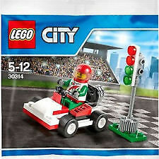 Lego City 30314 Go-Kart Racer poly bag