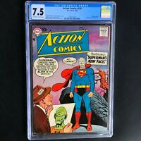 Action Comics #239 💥 CGC 7.5 💥 Ad for Challengers of the Unknown 1 Superman DC
