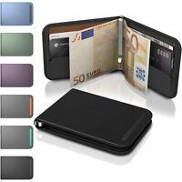 DOSH Geldbörse RFID Blocker, Auslese Sicher - Edelstahl Geldklammer Portemonnaie