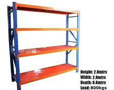 Shelving workshop garage warehouse shed racking 2.0m X 2.0m X 0.6m