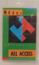HEART (ANN & NANCY WILSON) - ORIGINAL CONCERT TOUR LAMINATE BACKSTAGE PASS