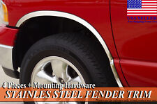 2002-2009 Dodge Ram 3500 Dually Stainless Steel Fender Wheel Molding