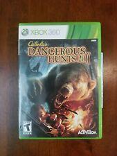 Xbox 360 : Cabelas Dangerous Hunts 2011 Video Games