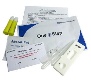 1 x AMH PCOS Ovarian Reserve Fertility Test
