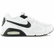 Nike air Max Ivo Course Hommes Baskets blanches noires Size 7 - 10.5 44