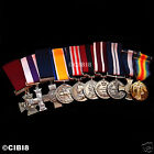 HUGE BRITISH MILITARY MEDALS GROUP SET 10x AWARDS RAF NAVY RM SBS PARA WW1 WW2