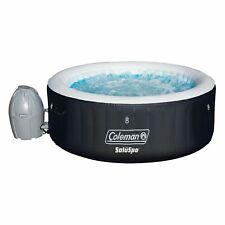 New ListingColeman SaluSpa 4 Person Portable Inflatable Outdoor Spa Hot Tub, Black