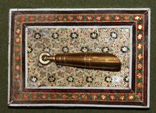 Vintage floral desk pen holder