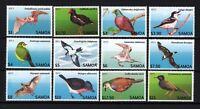 Samoa 2013 Endangered Bats and Birds - Below Face, Sc.1142 - 1153, Unused, MNH