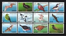 Samoa 2013 Endangered Bats and Birds - Below Face, Sc.1142 - 1153, Unused, MNH