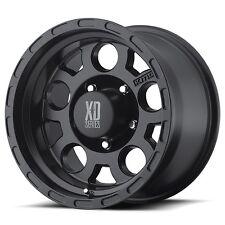 4 17 inch XD122 17x9 Black Toyota 4wd Tacoma 6 Lug Rims 6x5.5 XD12279060706N