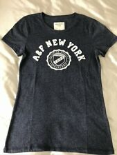 Woman's ABERCROMBIE & FITCH navy t shirt, size S