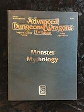 Advanced Dungeons & Dragons AD&D 2E - 2128 - Monster Mythology