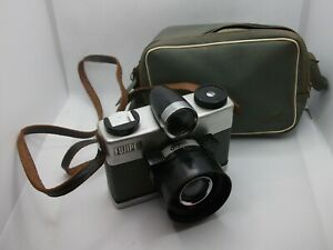 EXC+++ rare FUJIPET 120mm medium format camera w/case, WORKS, FREE US SHIPPING
