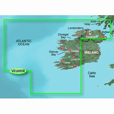 Garmin Veu005R Ireland West Coast Bluechart G2 Vision