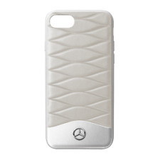 Mercedes Benz Original Case / Case IPHONE 7&8 Plastic/Leather Grey New Boxed