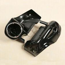 Lower Vented Leg Fairing w/ Speaker Box Pods For Harley Davidson Touring 83-13