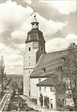 Großhartmannsdorf bei Freiberg, Branderbisdorf, Erzgebirge, Kirche, DDR-Foto-Ak