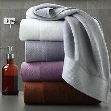 1 Pc Thick Towel Set Modern Solid Color Cotton Bath Towels Bathroom Hand Face Sh