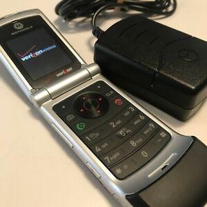 Motorola W385 IHDT56HC1 Mobile Flip Phone Verizon #1275C Tested Working