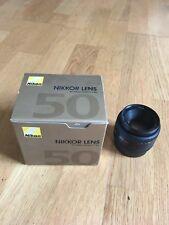 Nikon Nikkor Lens 50mm F/1.8 Manual Focus