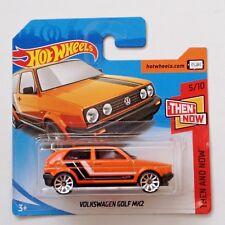 Hot Wheels  Volkswagen Golf MK2 - 3 door orange