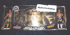WWE Raw Exclusive 2 Pack World Tag Team Championship Belt Cody Rhodes and Holly