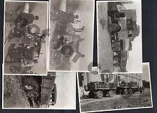 URUGUAY CA1930 LOT OF 5 THORNYCROFT LEYLAND &  INTERNATIONAL TRUCK LORRY PHOTOS