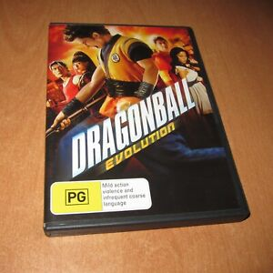 DRAGONBALL - EVOLUTION ( DVD , REGION 4 ) ~ DISC LIKE NEW