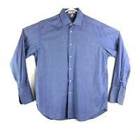 Giorgio Armani Mens Long Sleeve Dress Shirt Le Collezioni French Cuff 15 1/2 -39