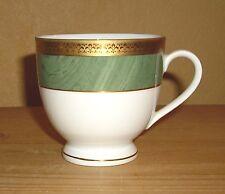 Winterling Porzellan, Bavaria, 1 Kaffeetasse weiß - grün und Gold Dekor