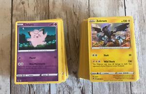 Mini Pokemon Cards Lot