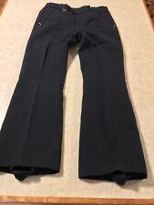 Vintage Pattendorfer Ski Pants Wool Stirrups Skihose Austria Black Size 32