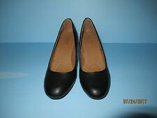JACLYN SMITH EVERYDAY/CASUAL SHOES SIZE 6.5 WIDE (BLACK)