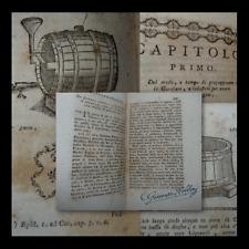 ECONOMIA AGRICOLTURA - VINO PIEMONTE TABACCO - AFFAITATI  VERCELLI 1769 Figurato